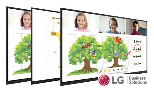 Monitory interaktywne LG