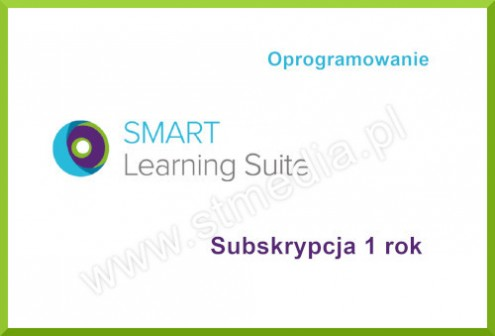 Oprogramowanie SMART Learning Suite - subskrypcja 1 rok