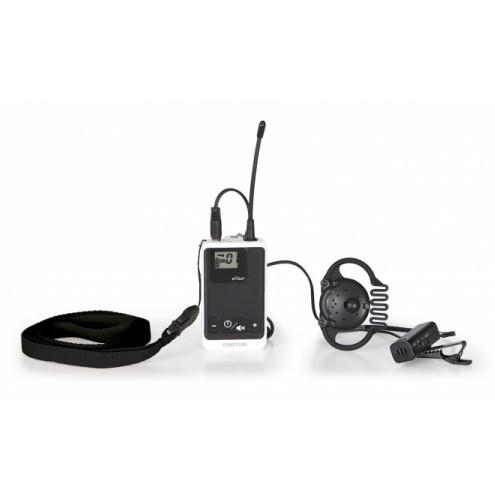Dwukierunkowy bezprzewodowy nadajnik komunikatów z mikrofonem Fonestar TOUR-2T