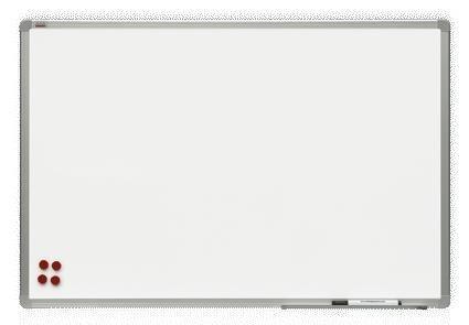 Tablica lakierowana 2x3 w ramie aluminiowej officeBoard 120 x 90 cm