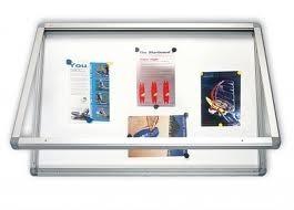 Gablota informacyjna wewnętrzna 2x3 model 1 naścienna suchościeralna 150x100
