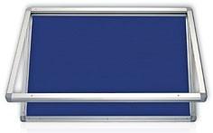 Gablota informacyjna wewnętrzna model 1 tekstylna 150x100