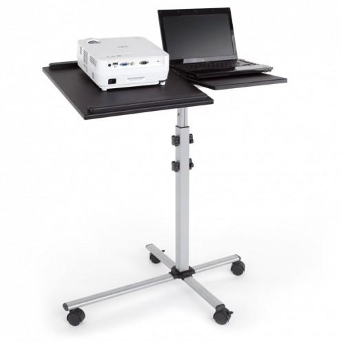 Stolik projekcyjny na kółkach DUO