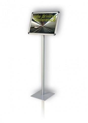 Tablica informacyjna 2x3 na stojaku Classic 100 cm A4 horyzontalna