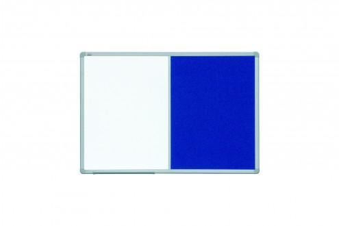 Tablica COMBI 2x3 officeBoard 120 x 90 cm suchościeralno-magnetyczna tekstylna