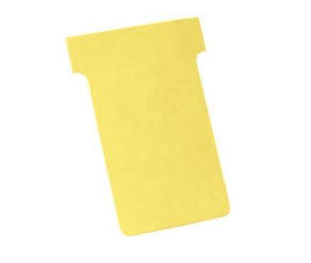 Karteczki T-Card rozmiar 3, żółte 100 sztuk
